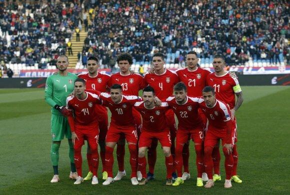 Serbijos rinktinė