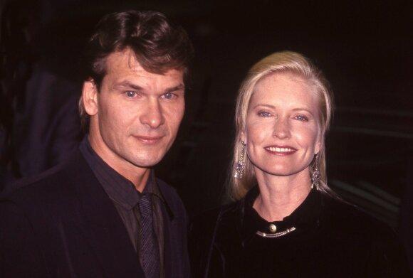 Patrick Swayze ir Lisa Niemi