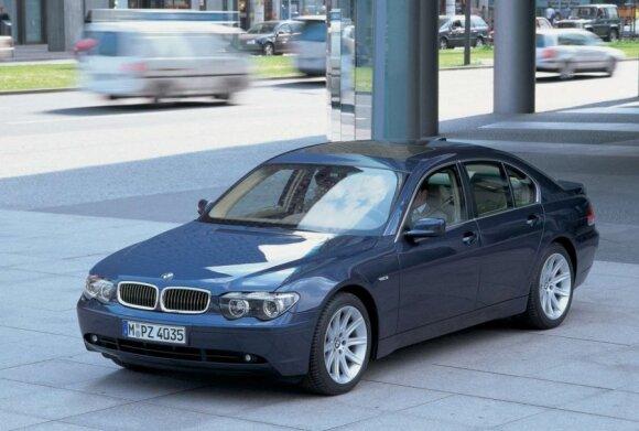 BMW 740d (2002 m.)