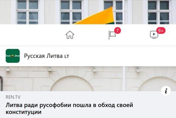 """Фейк: """"Литва, оказывая поддержку Светлане Тихановской, нарушает свою собственную Конституцию"""""""