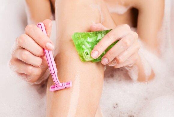 Įspėjo šalinančius plaukus skutimosi peiliukais: dėl kelių klaidų negailestingai pakenksite odai