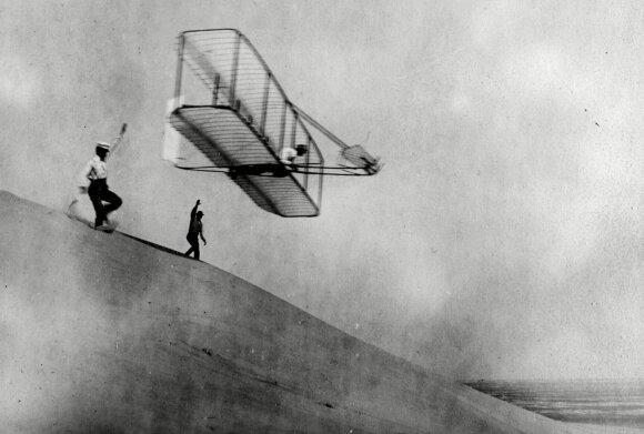 Brolių Wrightų sklandytuvas