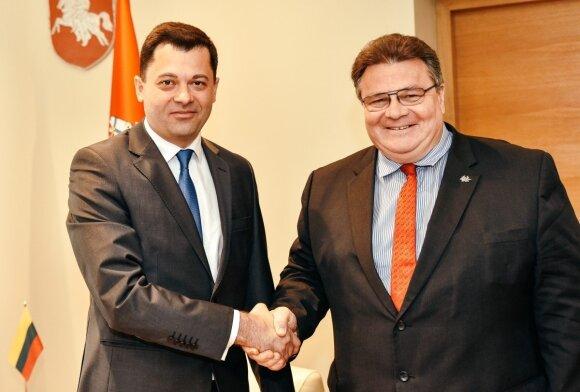 Посол Молдовы в Литве Сергей Михов