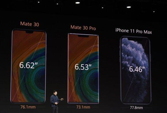 """Pristatyti naujieji """"Mate 30"""" serijos telefonai"""
