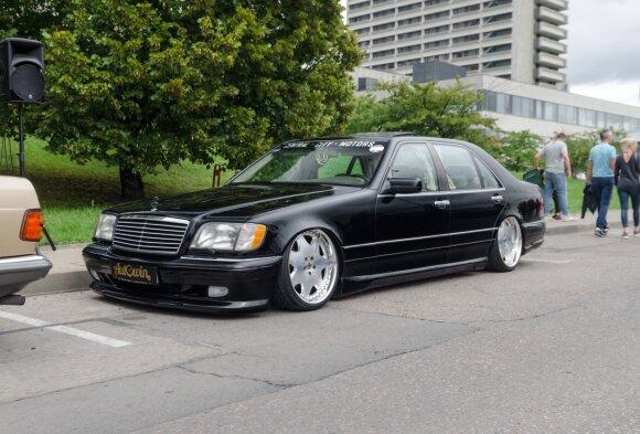 """Unikalus kauniečio """"Mercedes-Benz S420"""". A. Zavacky nuotr."""