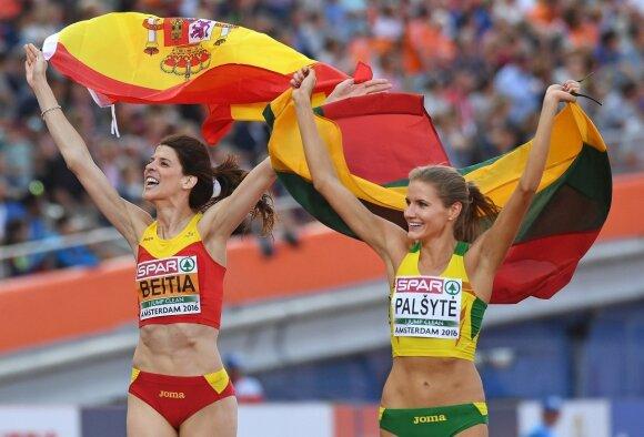 A. Palšytei su sezono rezultatu – Europos čempionato sidabras