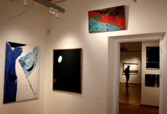 Lino Katino paroda Alantos dvaro galerijoje