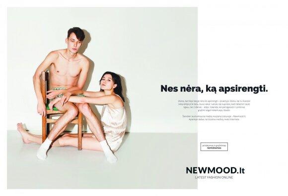 """Rinkos naujokui """"Newmood"""" reklamą kūrė """"Idea Prima"""""""