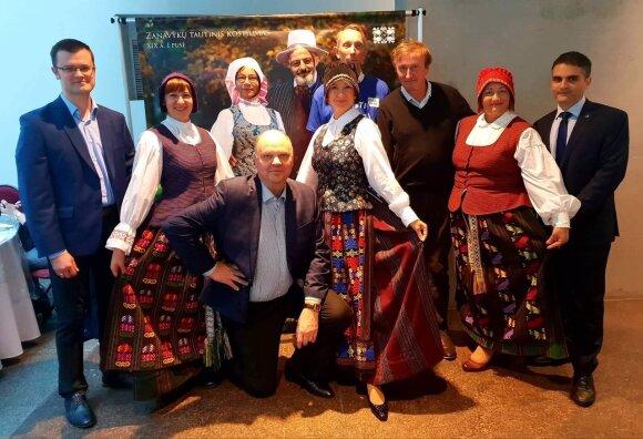 Стенд Литвы на ярмарке V Международного фестиваля «Открой свою Европу в Эрмитаже»