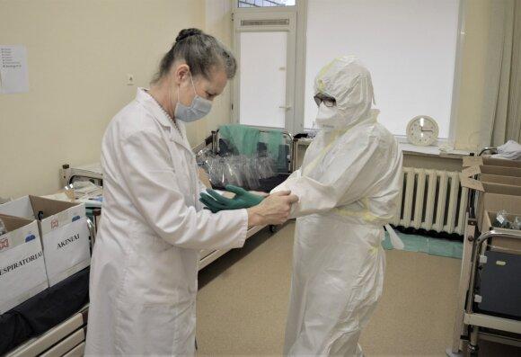 Koronavirusas LSMU Kauno ligoninėje