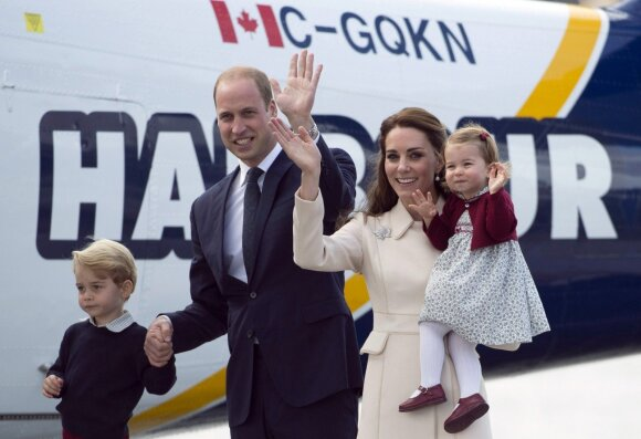 K. Middleton nerimauja dėl savo vaikų elgesio sesers vestuvėse