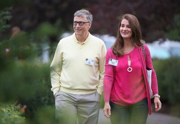 Billas ir Melinda Gatesai
