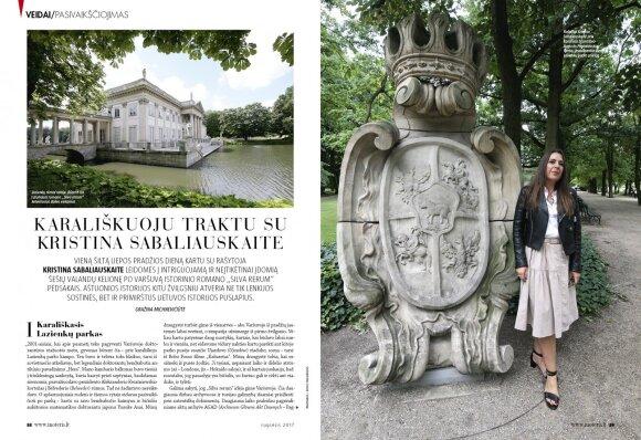 """Rašytoja Kristina Sabaliauskaitė kviečia leistis į intriguojamą ir neįtikėtinai įdomią kelionę po Varšuvą istorinio romano """"Silva rerum"""" pėdsakais"""