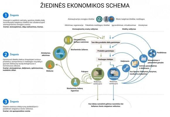 Žiedinės ekonomikos schema