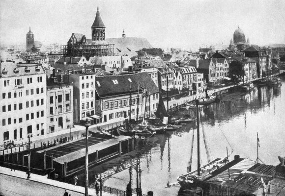 This photo shows Konigsberg, an East Prussian stronghold, at the time of World War I.