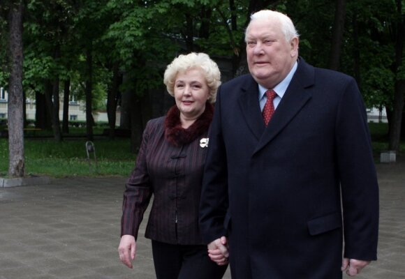 Kristina Brazauskienė ir Algirdas Brazauskas