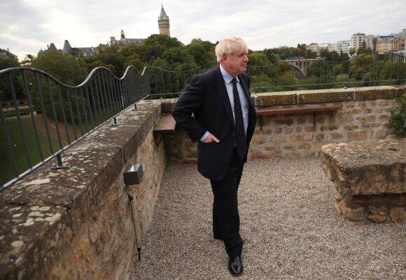 Boriso Johnsono vizitas Liuksemburge