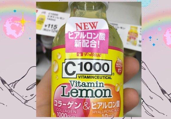 """Štai tokių """"grožio gėrimų"""" su kolagenu ir hialuronu galima pasigriebti tiesiog prie kasos kiekvienoje maisto parduotuvėje."""