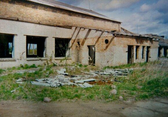 Taip atrodė būsimojo fabriko pastatas