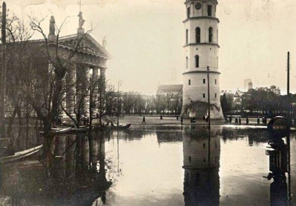 Potvynis Vilniuje 1931 m.