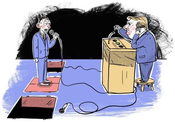 Trumpas ir žurnalistas