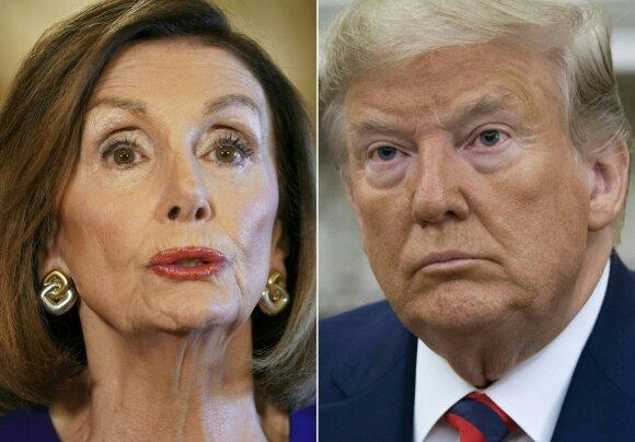 Rimtas smūgis Trumpui: pradedamas oficialus apkaltos tyrimas