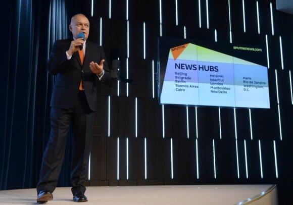 Dmitry Kiselyov presents Sputnik