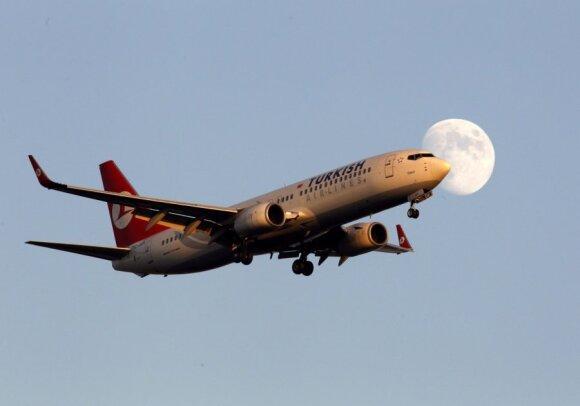 """""""Turkish Airlines"""" lėktuvas"""
