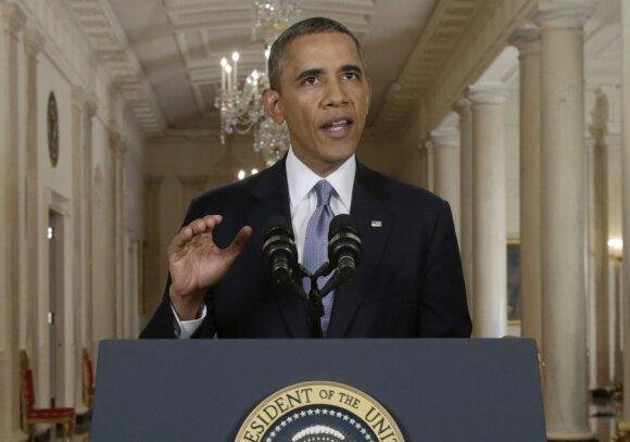 Barackas Obama kreipiasi į tautą dėl Sirijos