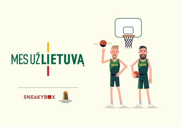 """Žaidimas """"Mes už Lietuvą"""""""