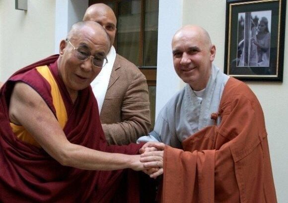 K. Marčiulynas: vienuoliu tapau ne tam, kad užsidaryčiau nuo gyvenimo