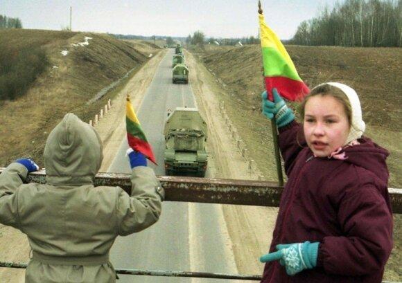 В Литве отмечают 25-летие вывода советских войск