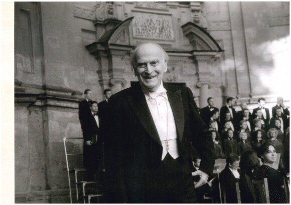 1997 m., II Pažaislio muzikos festivalis; lordas Yehudi Menuhin.