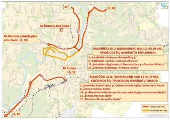 Eismas Vilniuje