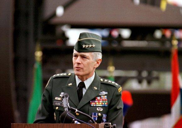 Buvęs NATO pajėgų vadas W. Clarkas