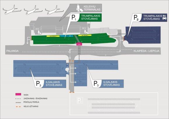 Eismo pažeidėjų problemą prie Palangos oro uosto padės spręsti vaizdo stebėjimo sistema