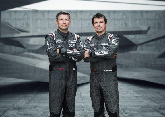 Darius Vaičiulis ir Antanas Juknevičius