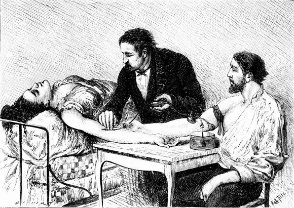 """Mėsininkas ar genijus: <span style=""""color: #c00000;"""">kruvinieji garsiojo ginekologo</span> eksperimentai su bejėgėmis moterimis"""