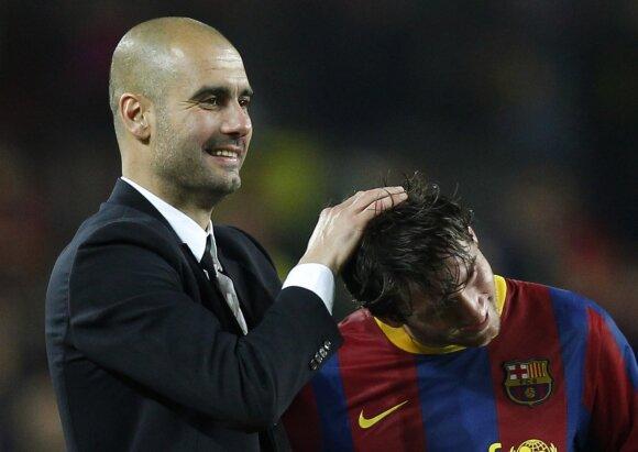 Josepas Guardiola, Lionelis Messi