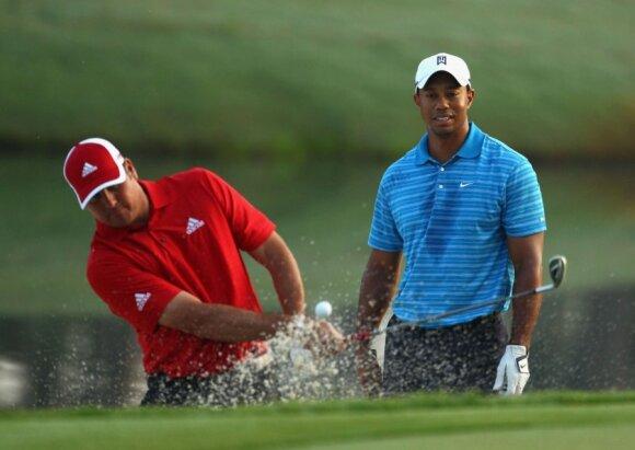 Kaip gyvena geriausias golfo žaidėjas: priklausomybė nuo sekso, milijonai ir lemtinga avarija