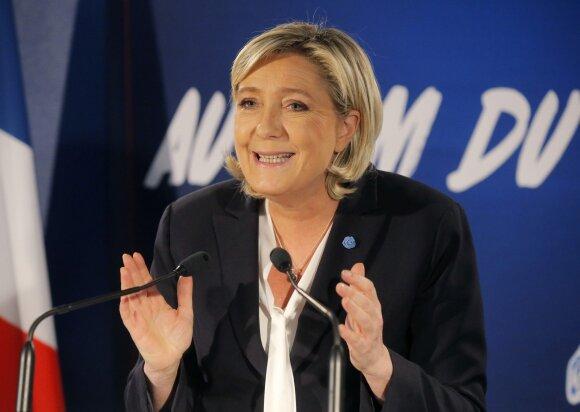 Ne tėvo dukra: moteris, supurčiusi Prancūziją ir bauginanti visą Europą