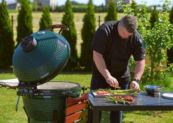 Lengva, paprasta gaminti lauke išskirtinius patiekalus ant griliaus.
