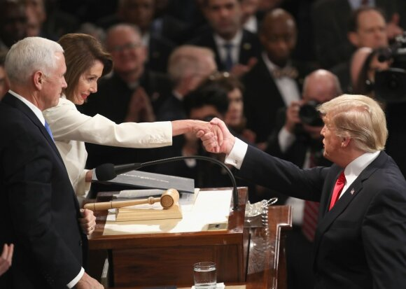Nancy Pelosi, Donaldas Trumpas
