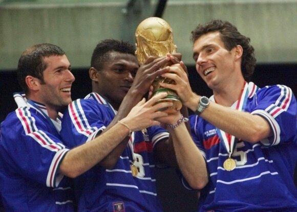 Zinedine'as Zidane'as, Marcelis Desailly ir Laurentas Blancas