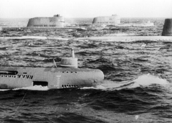 Sovietų povandeniniai karo laivai