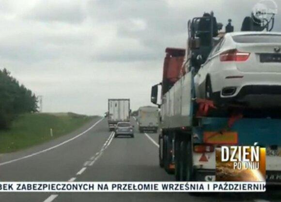"""Litewski kierowca: """"Asom"""" tak wolno"""