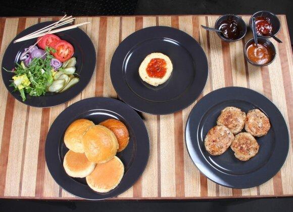 Grilio meistrė: mėsainiai ant grilio – patys skaniausi! RECEPTAI
