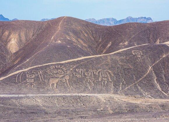 Didžiuliai piešiniai Naskos dykumoje, Peru