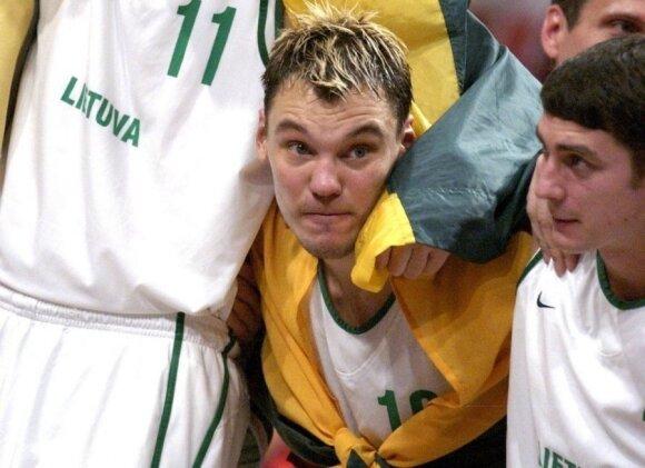 EuroBasket MVP Šarūnas Jasikevičius in 2003.