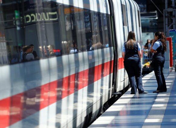 Dideliu greičiu galintys važiuoti traukiniai